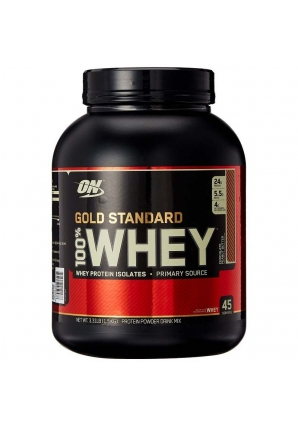 100% Whey Gold standard 1550 гр - 3.42lb (Optimum nutrition)