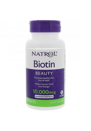 Biotin 10000 мкг 100 табл (Natrol)