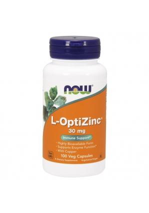 L-OptiZinc 30 мг 100 капс (NOW)