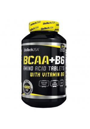 BCAA + B6 200 табл (BioTechUSA)