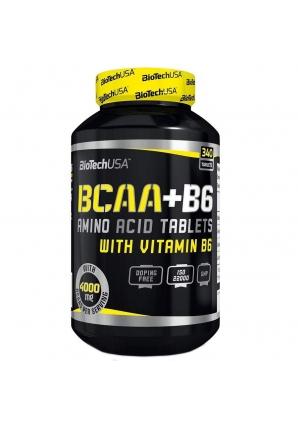 BCAA + B6 340 табл (BioTechUSA)