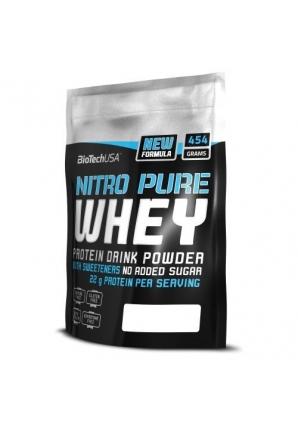 Nitro Pure Whey 454 гр (BioTech USA)