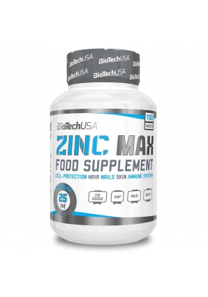 Zinc 25 мг 100 табл (BioTechUSA)