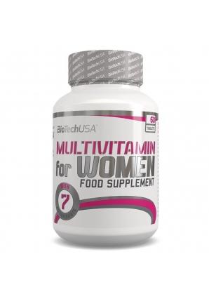 Multivitamin for women 60 табл (BioTechUSA)