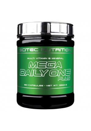 Mega Daily One Plus 120 капс (Scitec Nutrition)