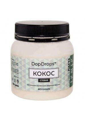 Паста Кокос, стевия 250 гр (DopDrops)