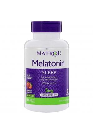 Melatonin 5 мг 150 табл (Natrol)