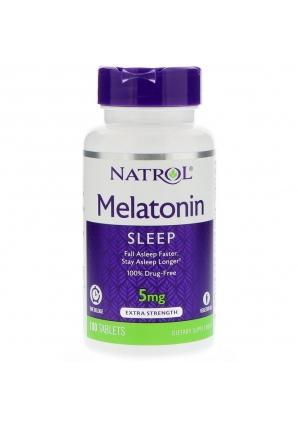 Melatonin 5 мг 100 табл (Natrol)