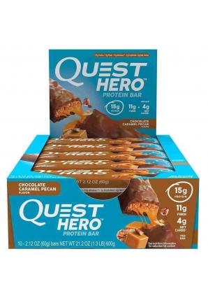 Quest Hero Bar 10 шт 60 гр (Quest Nutrition)