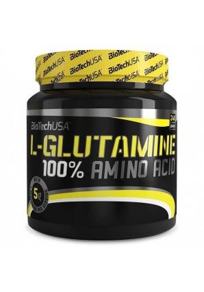 100% L-Glutamine 240 гр (BioTechUSA)