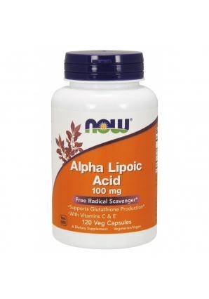 Alpha Lipoic Acid 100 мг 120 капс (NOW)