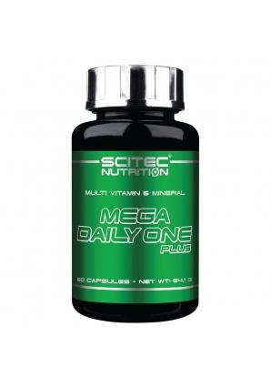 Mega Daily One Plus 60 капс (Scitec Nutrition)
