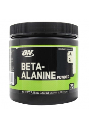 Beta-Alanine Powder 203 гр. (Optimum nutrition)