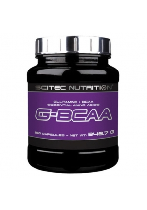 G-BCAA 250 капс (Scitec Nutrition)