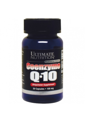 Coenzyme Q10 100% Premium 100 мг 30 капс. (Ultimate Nutrition)