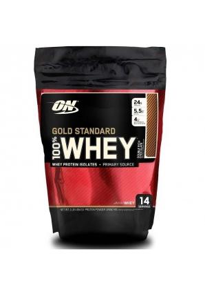 100% Whey Gold standard 454 гр. 1lb пакет (Optimum nutrition)