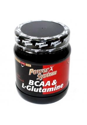 ВСАА + L-Glutamine 450 гр (Power System)