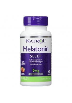Melatonin 5 мг 90 табл (Natrol)