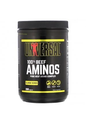 100% Beef Aminos 200 табл. (Universal Nutrition)