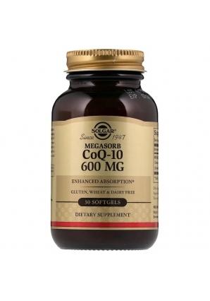 Megasorb CoQ-10 600 мг 30 капс (Solgar)
