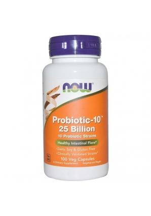 Probiotic-10 25 Billion 100 капс (NOW)