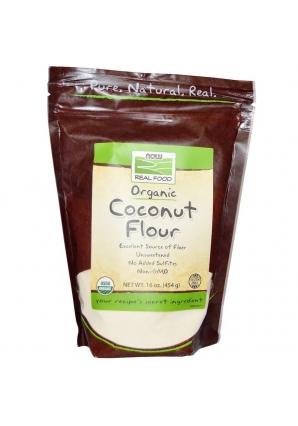 Organic Coconut Flour 454 гр (NOW)
