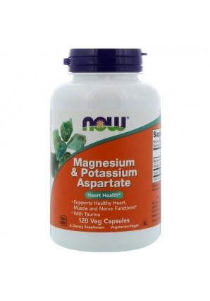 Magnesium & Potassium Aspartate 120 капс (NOW)