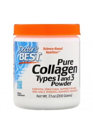 Pure Collagen Types 1 and 3 Powder 200 гр (Doctor's Best)