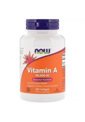 Vitamin А 25000 МЕ 250 капс (NOW)