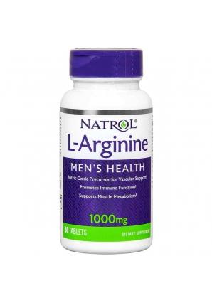L-Arginine 1000 мг 50 табл (Natrol)