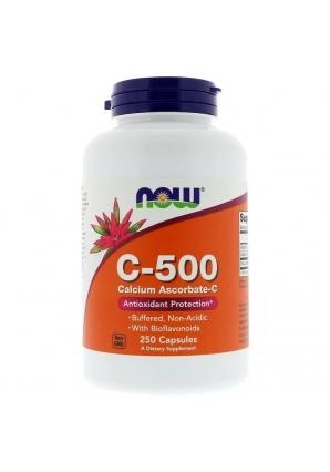 C-500 Calcium Ascorbate 250 капс (NOW)