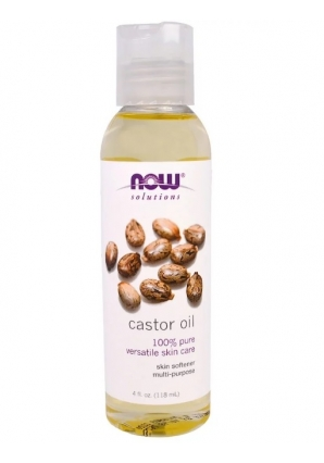 Castor oil 118 мл (NOW)
