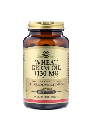 Wheat Germ Oil 1130 мг 100 капс (Solgar)