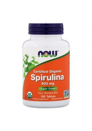 Spirulina 500 мг 180 табл (NOW)