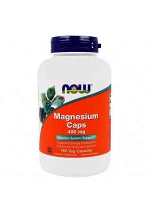 Magnesium Caps 400 мг 180 капс (NOW)