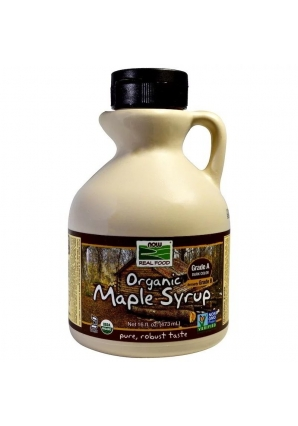 Organic Maple Syrup 473 мл (NOW)