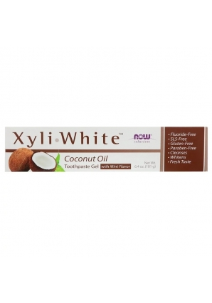 Зубная гель-паста Xyli∙White 181 гр (NOW)