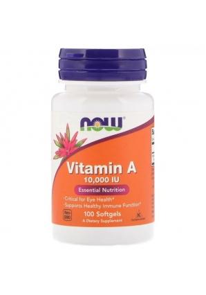 Vitamin А 10000 МЕ 100 капс (NOW)