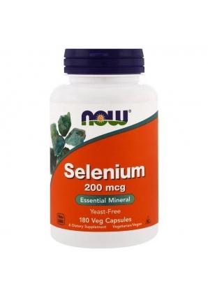 Selenium 200 мкг 180 капс (NOW)