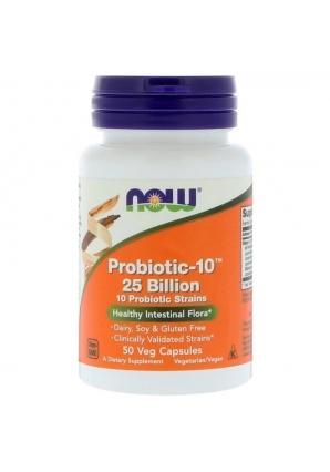 Probiotic-10 25 Billion 50 капс (NOW)