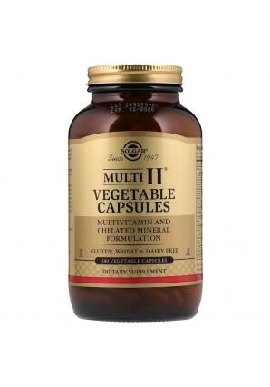 Multi II Vegetable Capsules 180 капс (Solgar)