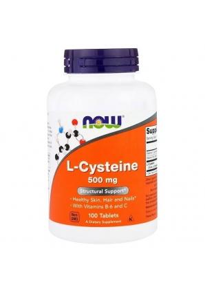 L-Cysteine 500 мг 100 табл (NOW)