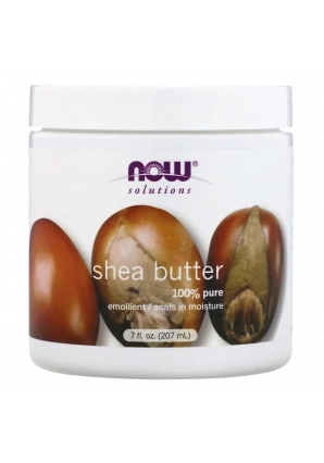 Shea Butter 100% pure 207 мл (NOW)