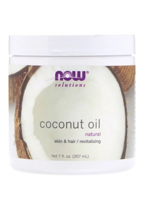 Coconut Oil Natural 207 мл (NOW)
