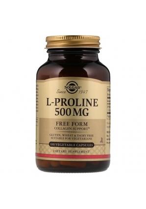 L-Proline 500 мг 100 капс (Solgar)