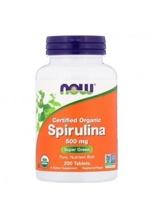 Spirulina 500 мг 200 табл (NOW)