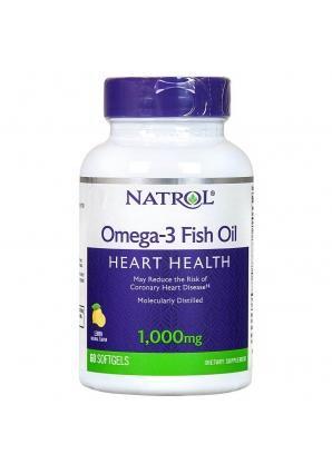 Omega-3 Fish Oil 1000 мг 60 капс (Natrol)