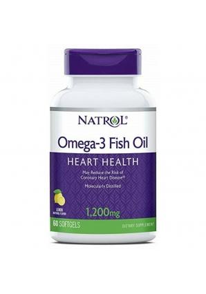 Omega-3 Fish Oil 1200 мг 60 капс (Natrol)