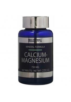 Calcium-Magnesium 750 мг 100 табл (Scitec Nutrition)