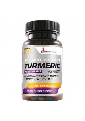Turmeric 500 мг 60 капс (WestPharm)